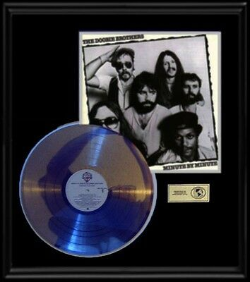 Doobie Brothers Minute By Minute  Gold Record Platinum Lp Disc Album Frame