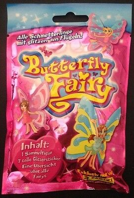 50 Packs x Butterfly Fairy Lucky Party Bags Pinata Wholesale Toy Pocket Money