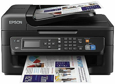 Epson WorkForce WF-2630 Four-in-One for the Small Printer with Wi-Fi and AirPri
