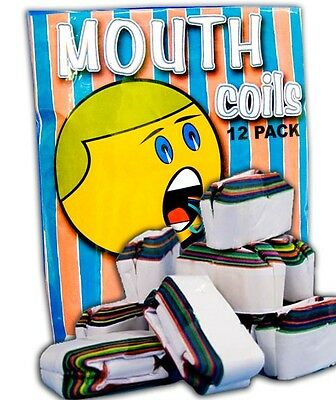 Mouth Coils - Rainbow - 50 ft Chain - Magic Tricks