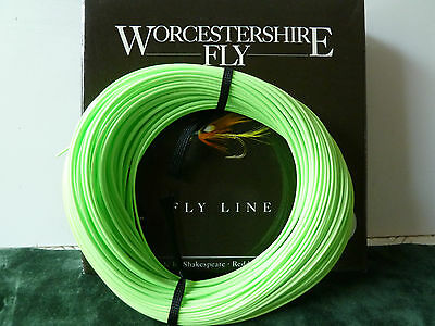WORCESTERSHIRE FLY FISHING LINE - WF9 #9 DISTANCE FLOATING 110ft
