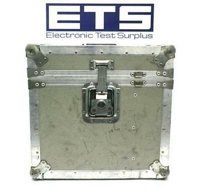 Sumitomo Electronic Test Equipment Flight Road Case w/ Handle & Wheel 17x16.5x14