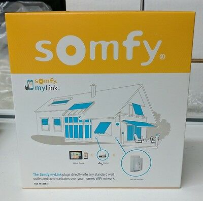Somfy Mylink 1811403 Smartphone Wifi Rts Motor Controller International Shipping