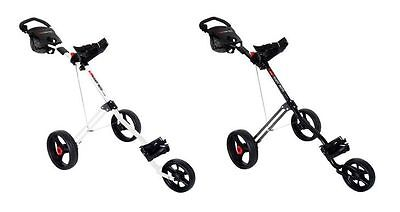 Masters 2016 5 Series 3 Wheel Golf Trolley* Black or White*
