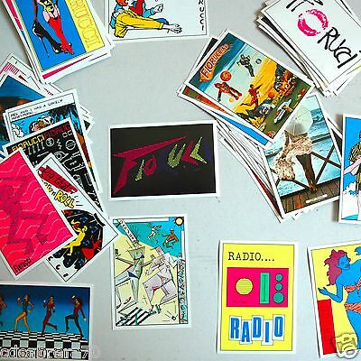 vintage FIORUCCI Complete collection editions STICKERS PANINI 1984 - 1 to 200