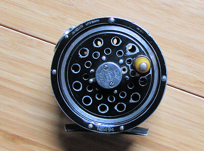 vintage pflueger medalist fly reel 1494 round line guard from the 30's