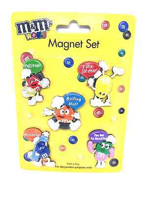 M&M's World Silicone PVC Fridge Magnet White Board Black Board Magnetic Sticker