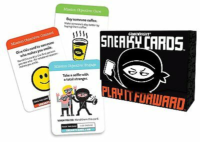 GameWright GW 351 Sneaky Cards Card Games