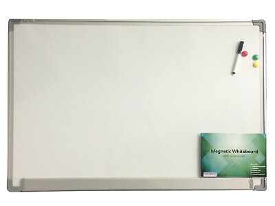 Sovereign Whiteboard Magnetic 900X600mm Aluminium Frame With Accessories