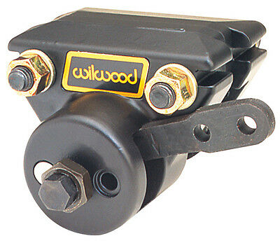 Wilwood 120-2281 Brake Caliper Aluminium Black Anodized 1-Piston Driver Side Fro