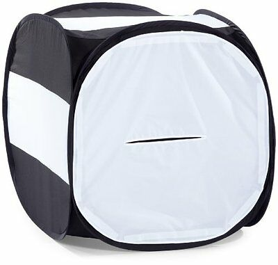 Walimex Pop-Up - Cubo shooting 80 x 80 x 80 cm, colore: Nero