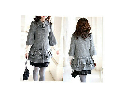 Wholesale Bulk Lots Of 20 Ladies Girls Winter Grey Jacket Coat B0164