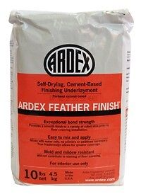 Ardex Feather Finish Floor Patching Compound 10 Lb Bag Gray Free Shipping