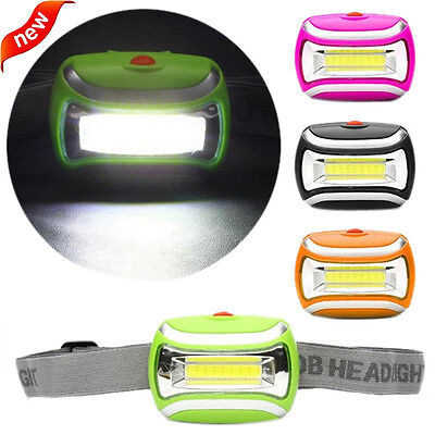 600 Lumens  5W COB Outdoor LED Head Lamp Headlight Bright Torch Adjustable Angle