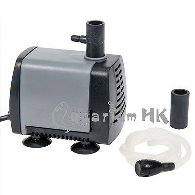 ATMAN Submersible Aquarium Fountain Water Pump Air Tubing 5-38W 350-2000L/H