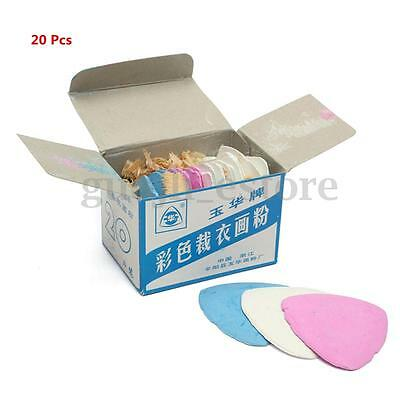 20pcs Multi Colored Fabric Marking Tailor Chalk Tailoring Dressmaking Chalks