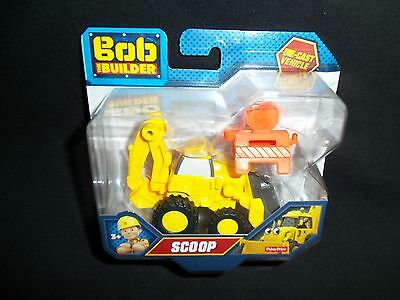 Bob The Builder Die-Cast Vehicle SCOOP Fisher-Price New 2016
