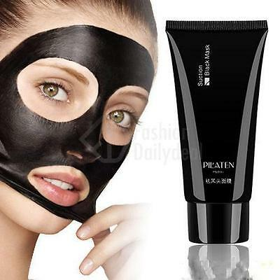 Mud Facial Care Black Deep Cleansing Peel Off Removal Blackhead Nose + Face Mask