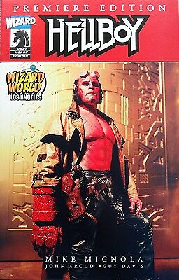 Hellboy Wizard World Los Angeles Premiere Edition Dark Horse Comics