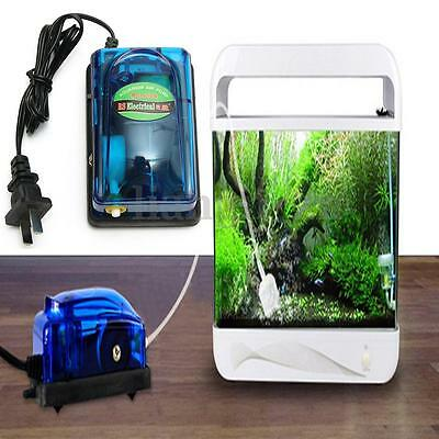 3W 220V-240V Energie Efficace Pompe Oxygène À Air Pr Aquarium Poisson Fish Tank