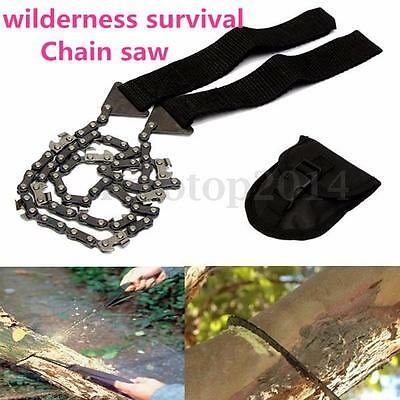 Gear Pocket Chain Saw Chainsaw for Camping Hiking Emergency Survival Hand Tool