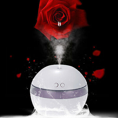 Air Aroma Essential Oil Diffuser LED Ultrasonic Aroma Aromatherapy Humidifier N2