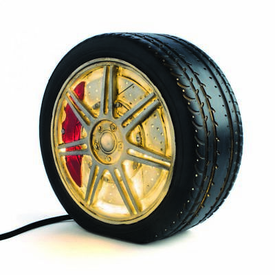 Mag Wheel Table Lamp - car novelty light bedside home décor