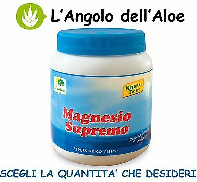 MAGNESIO SUPREMO NATURAL POINT 300gr - SCEGLI LA QUANTITÀ - FORMULA ORIGINALE -