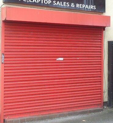 Electric Operation Commercial Roller Shutter Doors 3000 x 2200mm