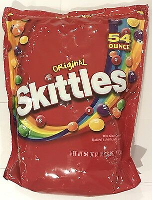 903527 1.53kg BULK BAG OF ORIGINAL SKITTLES - BITE SIZE CANDIES! - USA
