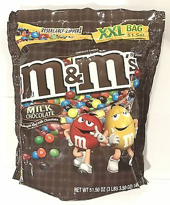 903895 1.46kg BULK BAG OF M&M'S - MILK CHOCOLATE - XXL BAG! - USA