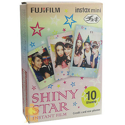 FUJIFILM FUJI INSTAX MINI Instant FILM 1 PACK / SHINY STAR 4 8 7S 50S 90 SP-2