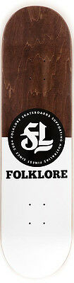"Folklore - Pill Brown 8.0"" Skateboard Deck"