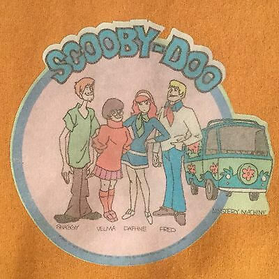 Scooby Doo Mystery Machine Vintage Sweatshirt Hanna Barbara Shaggy Medium 70's M