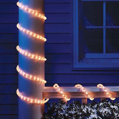 Holiday time christmas lights 18 ft clear light rope 2780 holiday time christmas lights 18 ft clear light rope aloadofball Gallery