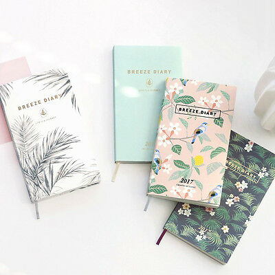 ICONIC 2017 Mini Diary Dated Planner Journal Cute Diary Scheduler + 1 Sticker