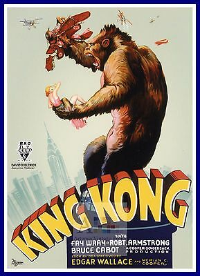 King Kong  1930 Movie Posters Classic & Vintage Cinema