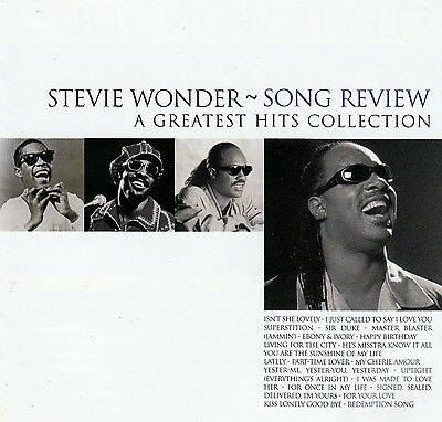 Stevie Wonder : Song Review - A Greatest Hits Collection / Cd (Motown 1996)