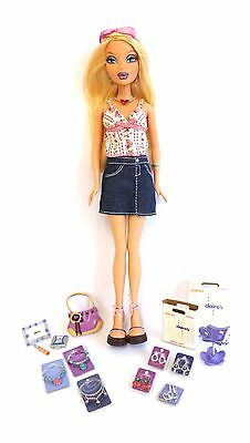 My Scene Barbie doll – Kennedy – Mall Maniacs – Claire's – Excellent condition
