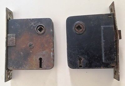 Antique Vintage Mortise Door Locks