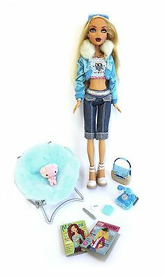My Scene Barbie doll – Kennedy – Un-Fur-Gettable with accessories – Excellent