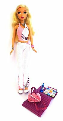 My Scene Barbie doll – Kennedy – Sports Style with Adidas yoga accessories