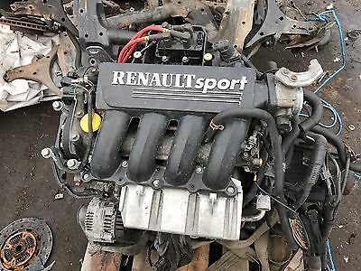 Renault Sport Clio 172 2.0 16v 2000 - 2004 Complete Engine Only 88,000 Miles