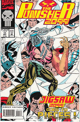 Punisher 2099 #11 (Dec 1993, Marvel)