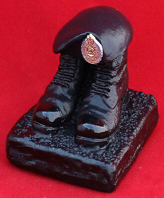 The Royal Engineers boots and beret