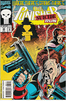 The Punisher #85 (Dec 1993, Marvel) Suicide Run