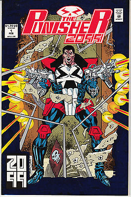 Punisher 2099 #1 (Feb 1993, Marvel) Card stock cover