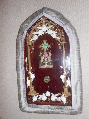 Antique Reliquary With Relics OUR LADY of LORETO