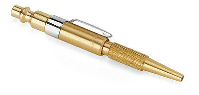 Brass Mini Small Air Pocket Pencil Blow Gun Tool Blower Blowgun