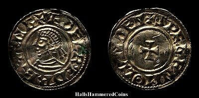 Aethelred II Penny - Last Small Cross Type, London Mint (HHC3769)